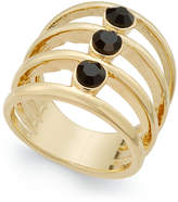 INC International Concepts Gold-Tone Multi-Layer Stone Statement Ring, Only at Macy's