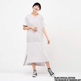Uniqlo WOMEN Color And Rhythm Short Sleeve T Dress