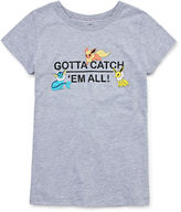 Pokemon Short Sleeve Crew Neck T-Shirt-Big Kid Girls