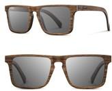 Shwood Men's Govy 2 52Mm Polarized Wood Sunglasses - Walnut / Grey