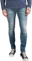 Denham Bolt Skinny Fit Jeans, Light Grey Wash