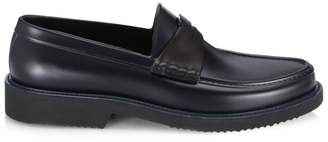 Saks Fifth Avenue All-Weather Penny Loafers