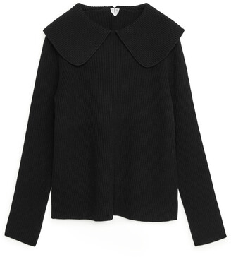 Arket Collared Wool Jumper