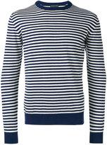 Etro striped sweatshirt - men - Cashmere - XL