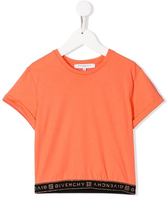 Givenchy Kids logo short-sleeve T-shirt