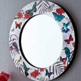Arthouse Mystical Forest 14-Inch Round Wall Mirror