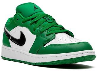 Nike Kids TEEN Air Jordan 1 Low (GS) pine green