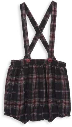 Noë & Zoë Berlin Baby Girl's Plaid Skirt with Suspenders