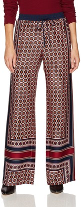 Trina Turk Women's Adonia Fairfax Floral Placed Print Rayon Pant