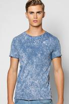 Boohoo Marble Wash T Shirt
