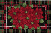 "Nourison Rugs, Holiday Poinsettia 20"" x 32"" Accent Rug"