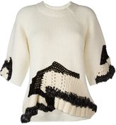 3.1 Phillip Lim hand-crocheted jumper - women - Acrylic/Viscose/Mohair/other fibers - S