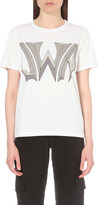 J.W.Anderson Logo-print cotton-jersey t-shirt