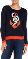 Yumi Anchor Sequin Sweater