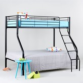 Domino Metal Trio Bunk Bed with Optional Mattresses