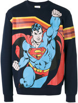 Iceberg Superman print sweatshirt - men - Cotton/Polyester - S