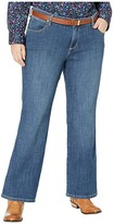 Wrangler Plus Size Instantly Slimming Jean (Dark Blue) Women's Jeans