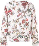 McQ by Alexander McQueen floral embroidered sweatshirt - men - Cotton - S