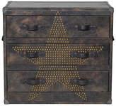 Andrew Martin Howard Star Studded Fudge Chest Of Drawers
