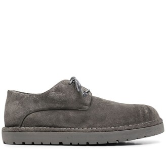 Marsèll Textured Lace-Up Loafers