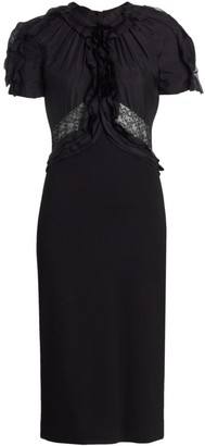 Jason Wu Collection Lace Silk Cocktail Dress