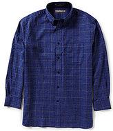 Daniel Cremieux Signature Long-Sleeve Heather Plaid Woven Shirt