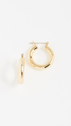 Luv Aj Baby Amalfi Tube Hoop Earrings