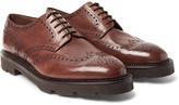 John Lobb - Hayle Leather Wingtip Brogues