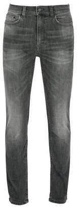 Dorothy Perkins Womens **Burton Grey Authentic Wash Blake Slim Fit Jeans