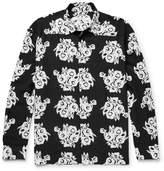Givenchy Floral-Print Woven Shirt