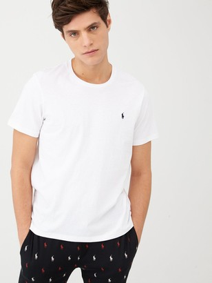 Polo Ralph Lauren Logo Lounge T-Shirt - White