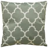 DonnieAnn Bellagio Trellis 18 in. x 18 in. Square Accent Pillow