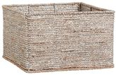 Pottery Barn Kids Silver Rope Basket Large