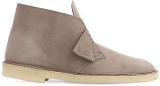 Clarks 25mm Suede Desert Boots