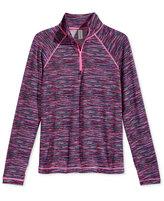 Ideology Girls' Space-Dye Zip-Neck Jacket, Big Girls (7-16), Only at Macy's