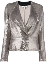 IRO sequin distressed blazer