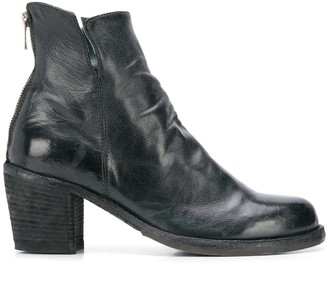 Officine Creative High-Ankle Heeled Boot