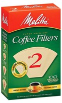 Melitta Coffee Filters - Beige (100 pk.)