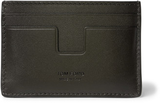 Tom Ford Logo-Debossed Leather Cardholder