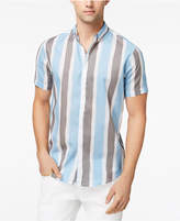 INC International Concepts Men's Painter Stripes Shirt, Created for Macy's