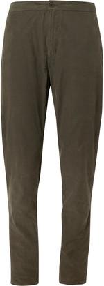 Boglioli Light-Blue Slim-Fit Cotton-Corduroy Drawstring Suit Trousers