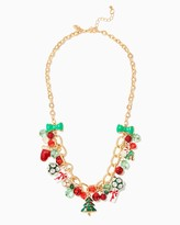 Charming charlie Holiday Cheer Necklace