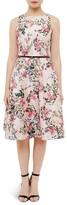 Ted Baker Blossom Jacquard Dress