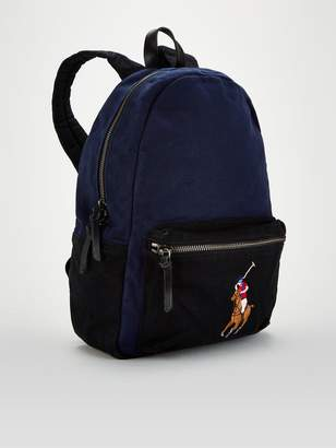 Polo Ralph Lauren Canvas Big Pony Backpack - Navy