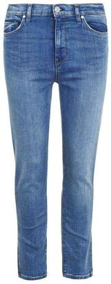 Hudson Holly High Rise Crop Jeans