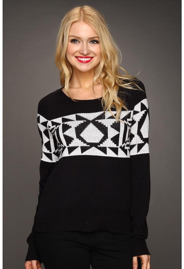 Volcom Spirit Animal Sweater (Black) - Apparel