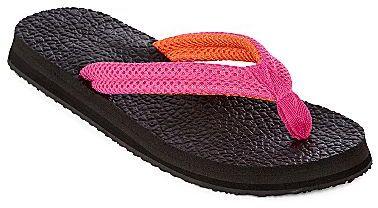 JCPenney Yoga Mat Thong Sandals
