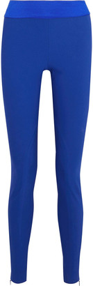 Stella McCartney Heather Cotton-blend Leggings