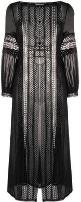 Charo Ruiz Ibiza Indira embroidered coat