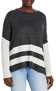 BeachLunchLounge Patience Striped Color Blocked Sweater
